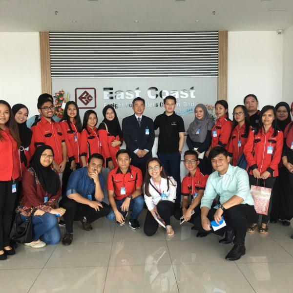 East Coast Hosts Visit by UiTM Students